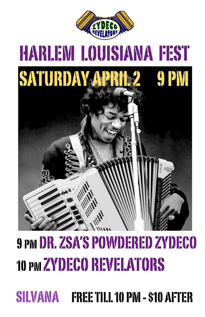 Do the #Harlem Zydeco 2 Step?  @ZydecoRevelator @Silvananyc #NOLA