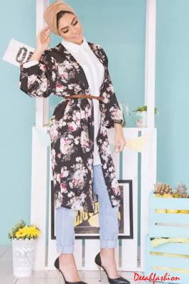 baju muslim flowery