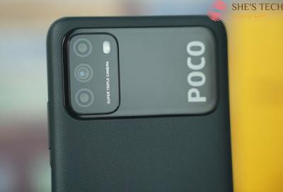 كاميرا Xiaomi Poco m 3