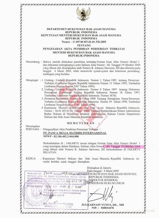 Jasa Perijinan Kota Bandung 2017