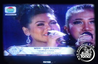 "Weni Indonesia duet dengan Erie Suzan  ""SABDA CINTA"""