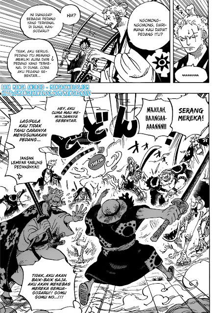 One Piece Chapter 913 Bahasa Indonesia