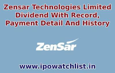 Zensar-Technologies-dividend