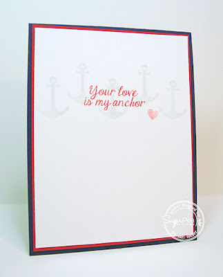 Your Love Is My Anchor card-designed by Lori Tecler/Inking Aloud-stamps from SugarPea Designs