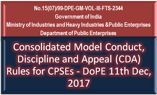 consolidated-model-conduct-discipline-appeal-cda-rules-for-cpse-paramnews