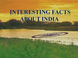 21 Interesting facts about India