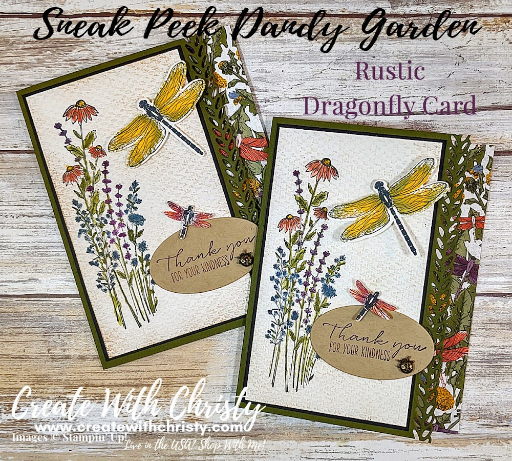 Sneak Peek - Dandy Garden Collection