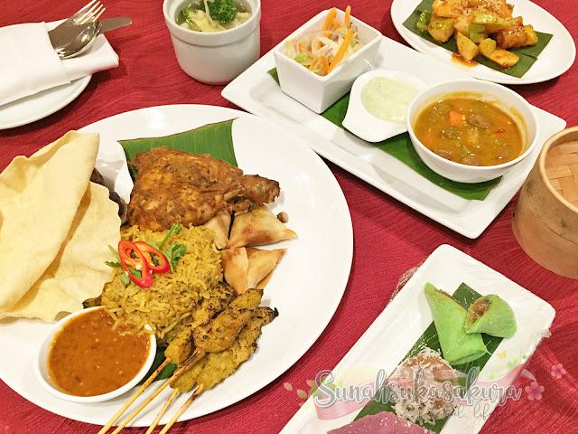 Nasi Beriani Ayam RM48 per person