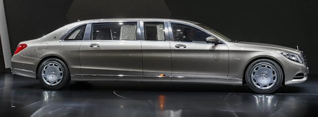 2018 New Mercedes S600 Exterior