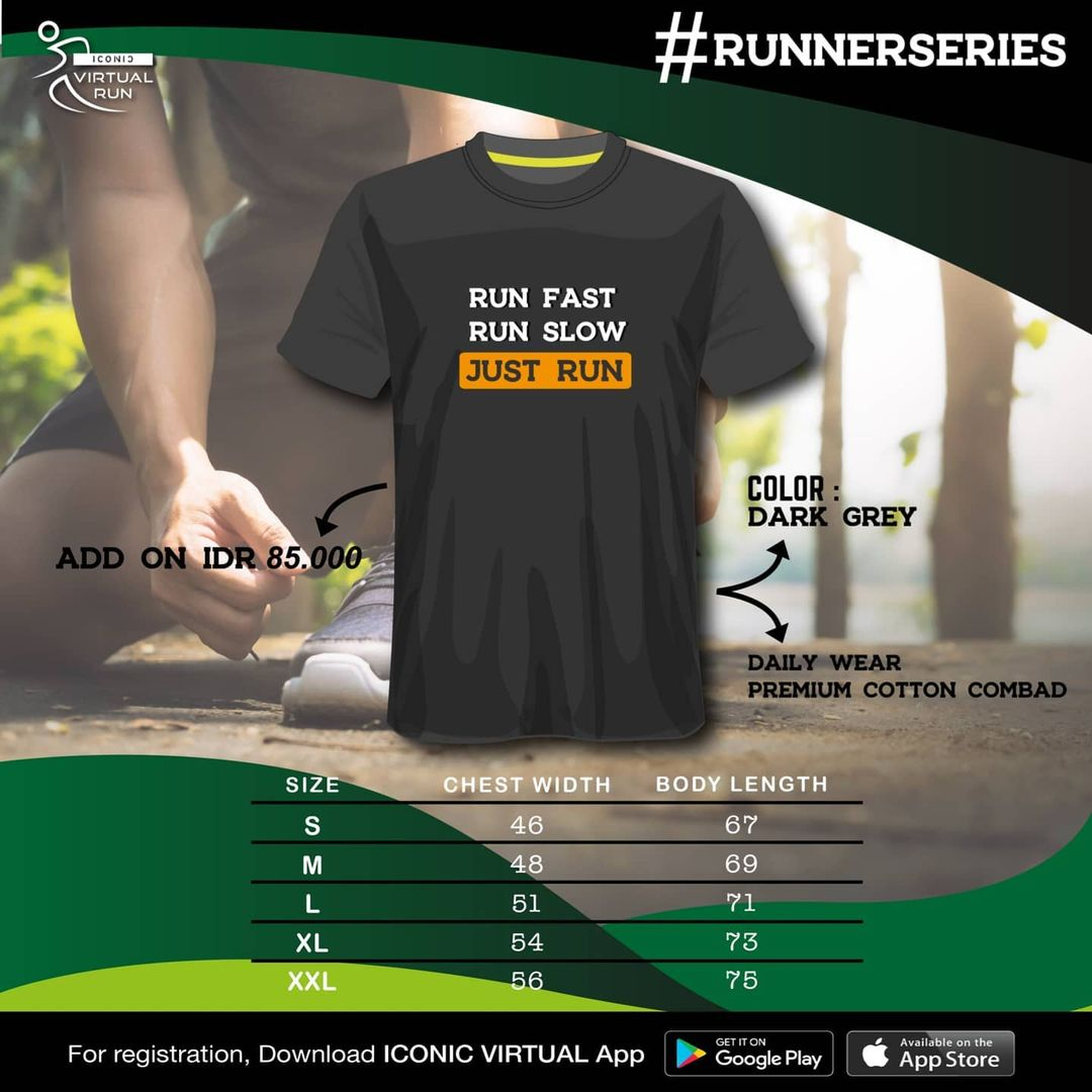 Iconic Virtual Run ∙ Runner Series • 2021
