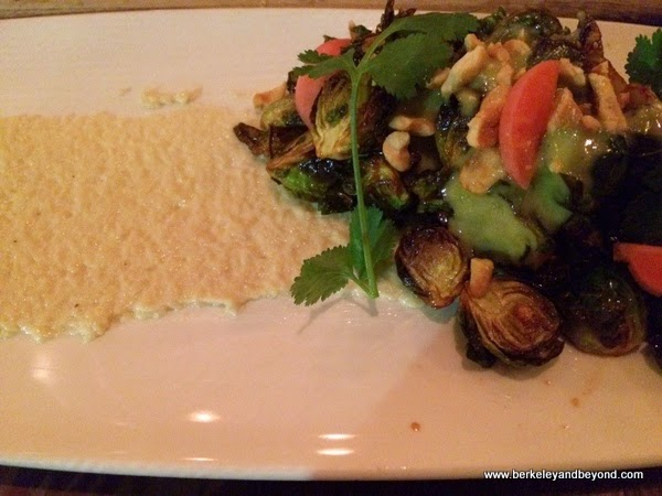 Brussels sprouts at Gather in Berkeley, California