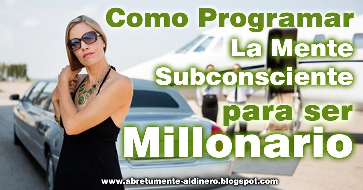 C mo atraer dinero riqueza y abundancia como programar - Como atraer el dinero ...