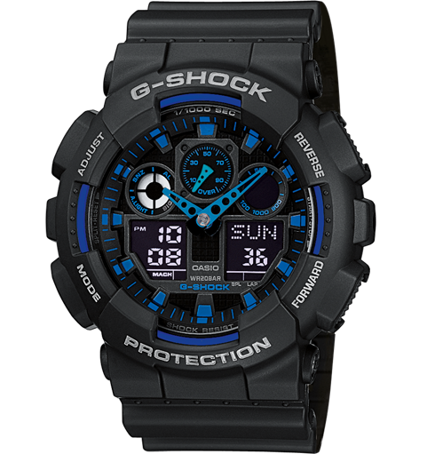 Review Jam Tangan G-Shock GA100C-1A2ER