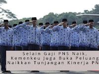 Selain Gaji PNS Naik, Kemenkeu Buka Peluang Naikkan Tunjangan Kinerja PNS