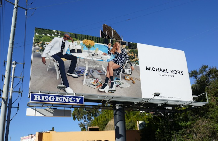 Michael Kors Collection SS20 billboard