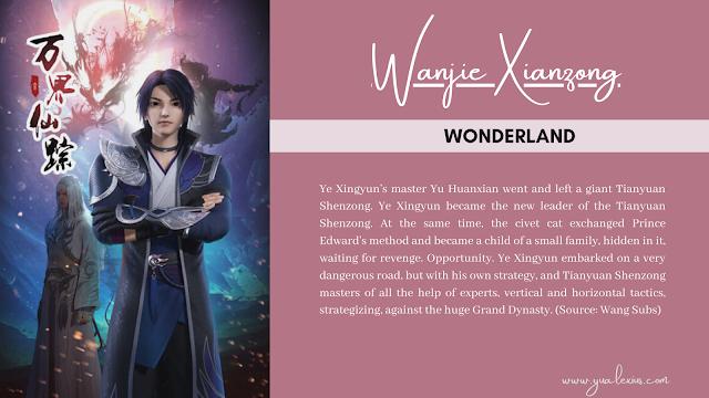 3D Chinese Anime Wanjie Xianzong