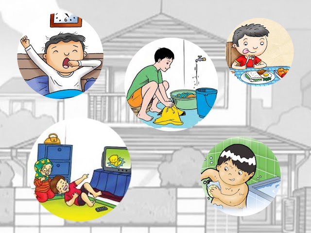 Kosakata Kegiatan Sehari-hari di Rumah dalam Bahasa Sunda