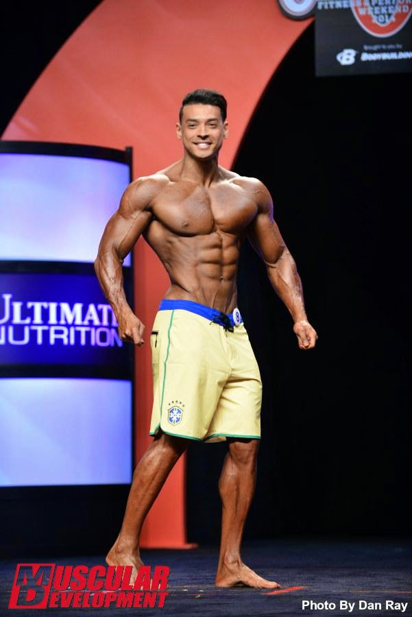 Felipe Franco - Foto: Dan Ray/Muscular Development