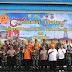 Kapolri bersama Panglima TNI melaksanakan kunjungan kerja ke Konawe Utara Sultra dalam rangka peninjauan Pasca Banjir
