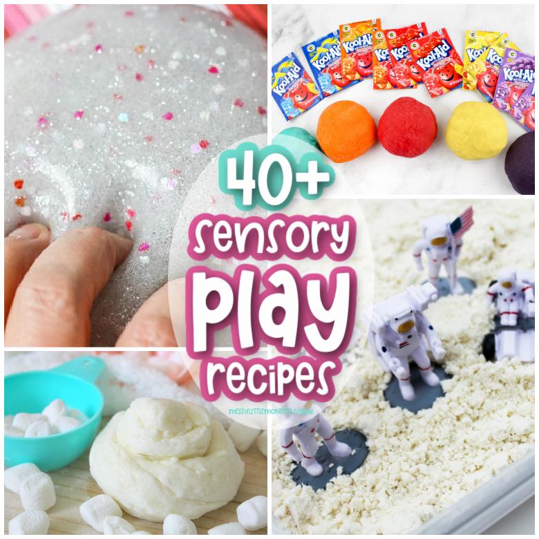 Sensory play recipes for kids