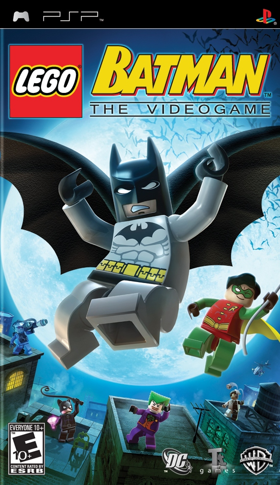 LEGO Batman The Video Game PSP ISO PPSSPP For Android