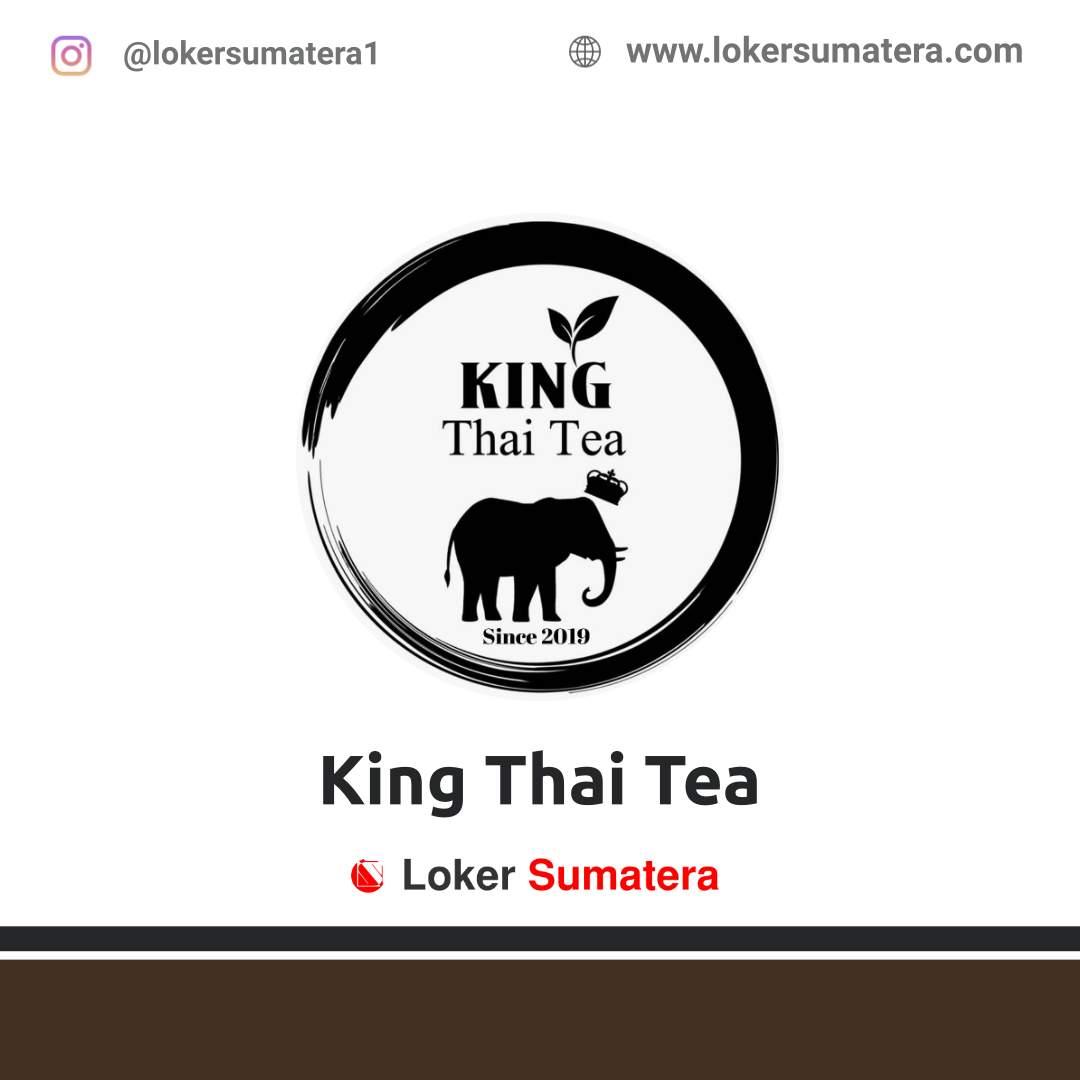 Lowongan Kerja Bengkulu: King Thai Tea Desember 2020