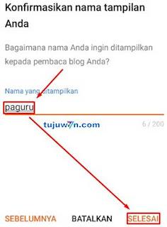 cara membuat blogger lewat hp android