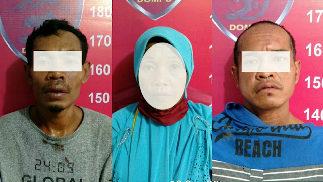 Tim Puma Polres Dompu tangkap 3 pelaku pencurian