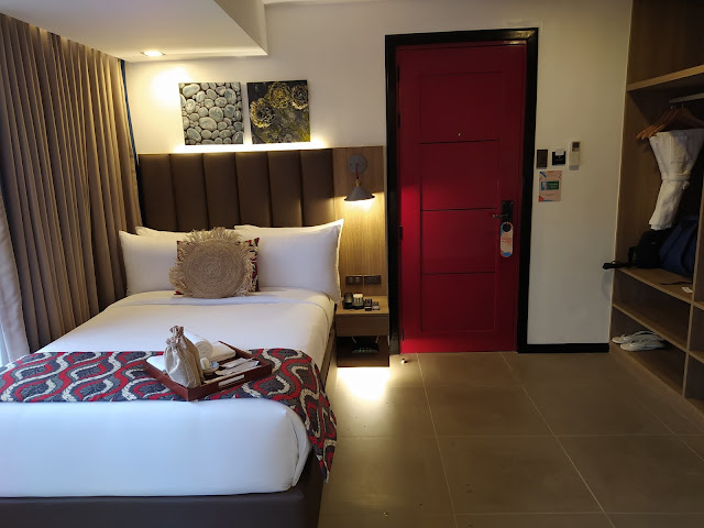 Hotel room for two at UNWND Hostel