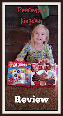 peaceable kingdom valentines cards review