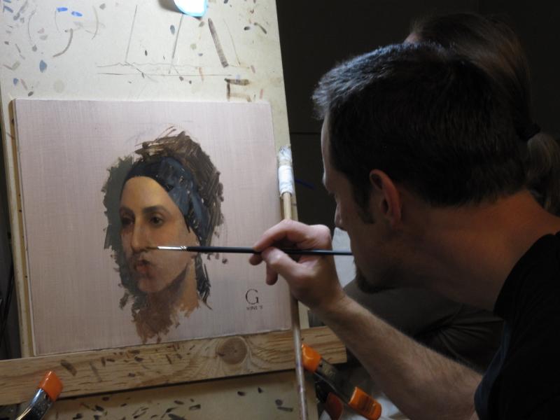 Conosciuto David Gray, 1970 | Classical Realist painter | Tutt'Art@ | Pittura  VD96