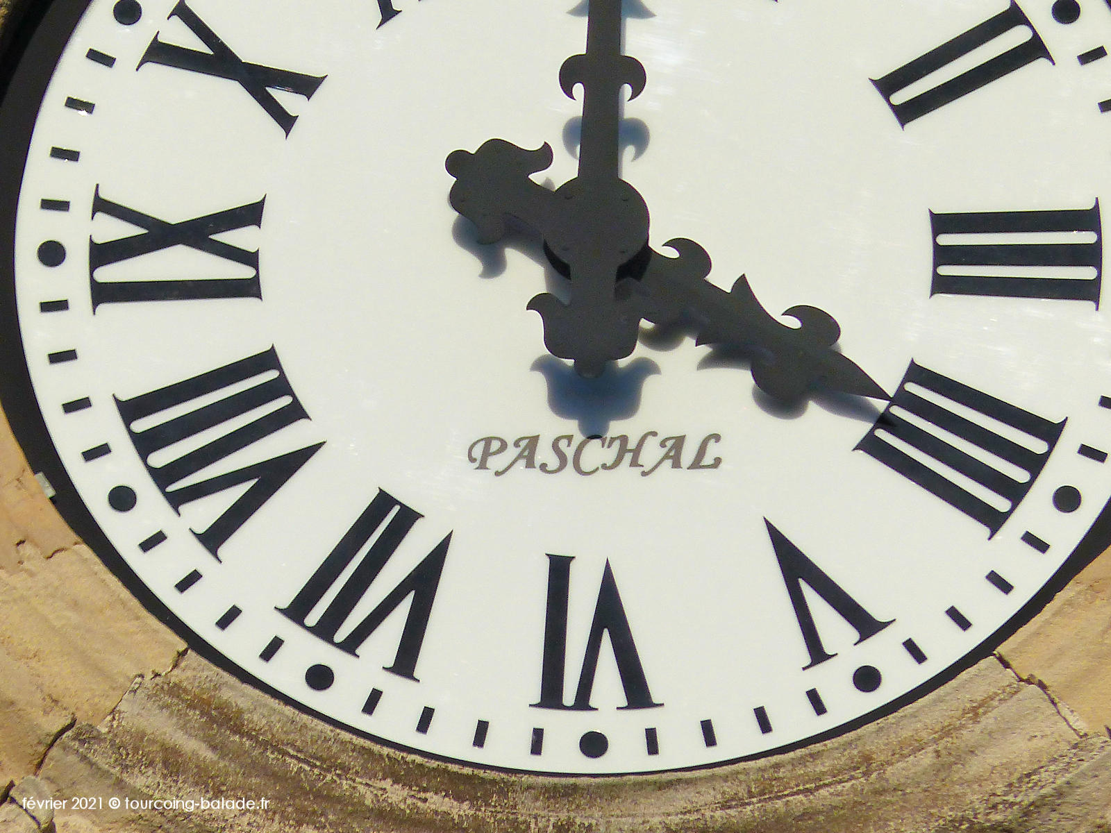 Horloge monumentale Paschal, Tourcoing