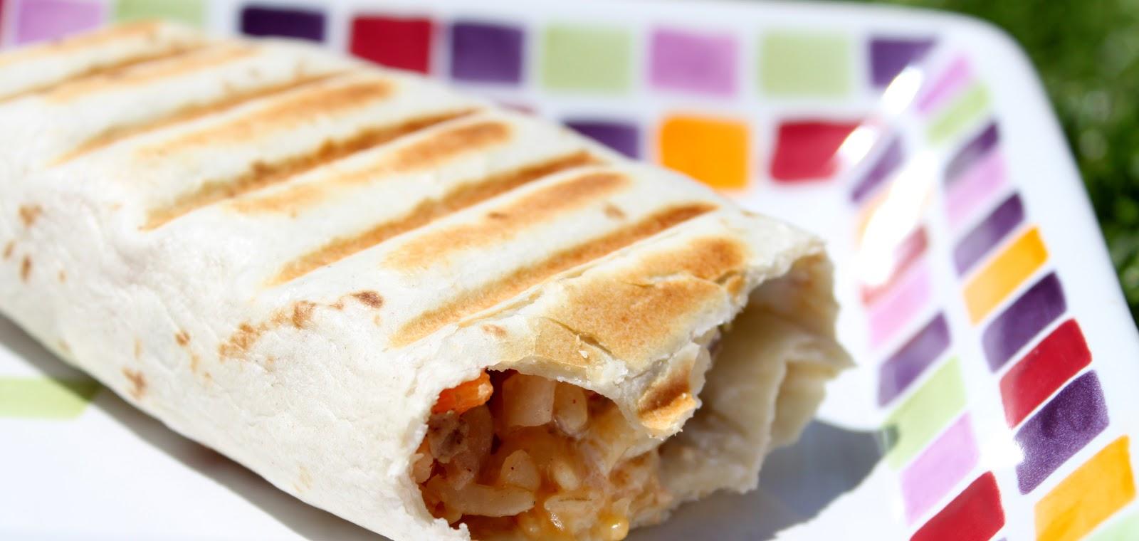 Fried Chicken Joke Waterfront Properties Blog: Grilled Stuffed Burrito Recipe