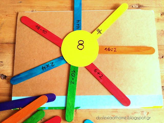 μαθηματικά, πράξεις, ήλιος, δυσαριθμησία, δυσλεξία