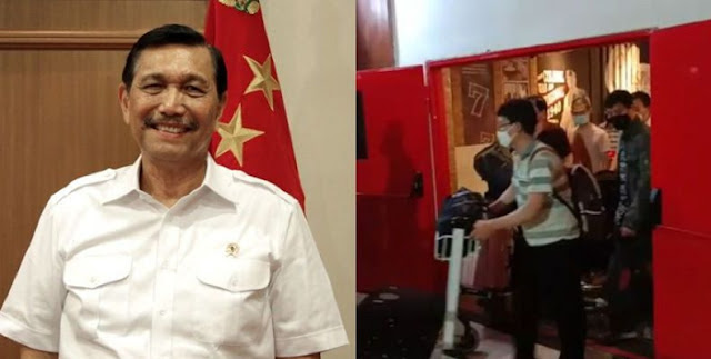 Beda dengan Kemenaker, Luhut Bela 49 TKA China di Kendari: Jangan Dibesar-besarkan