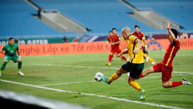 ملخص هدف فوز استراليا على فيتنام (1-0) تصفيات كاس العالم