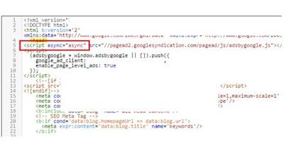 Mengatasi Error Kode HTML Saat Memasang Kode Adsense di Blogspot