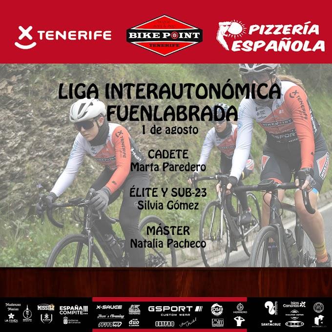 El Tenerife BikePoint Pizzería continúa con la Liga Interautonómica de Féminas