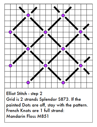 Needlepoint Study Hall: Elliot Stitch