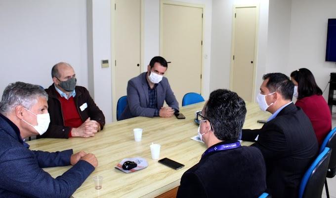 Ampliação do Hospital Dom João Becker é tema de reunião