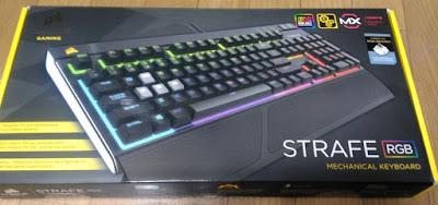Gaming STRAFE RGBの箱