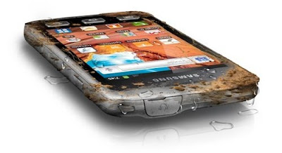 Galaxy dust proof and water proof smart phone