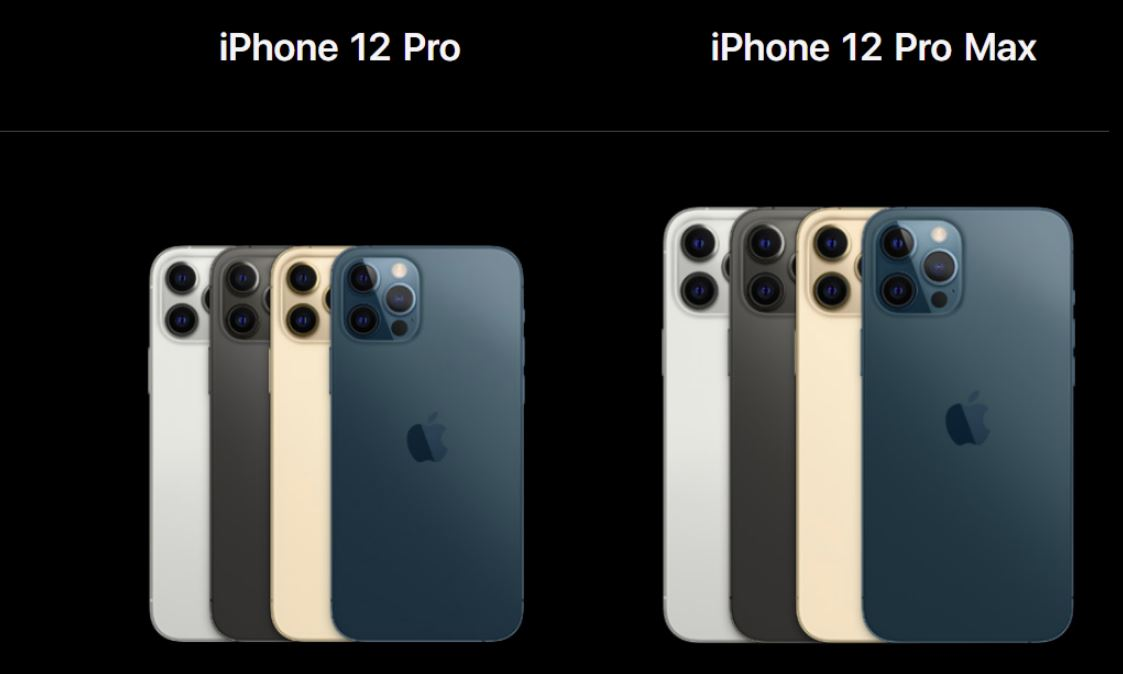 iphone 12 pro and 12 pro max