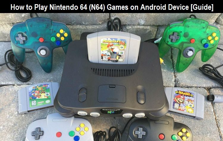 Play Nintendo 64 (N64) Games on Android