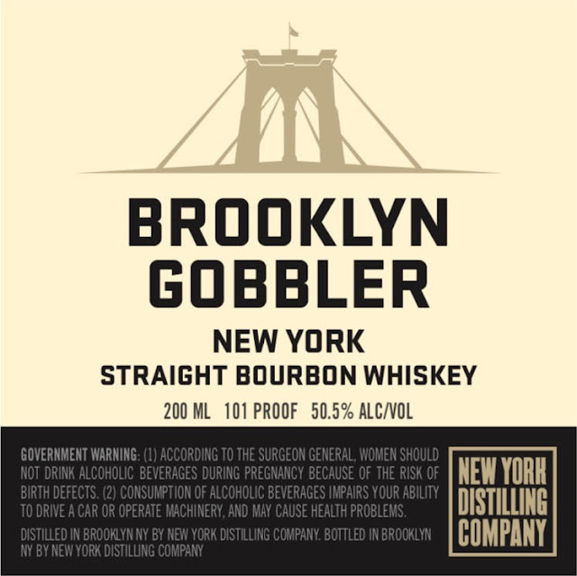 Brooklyn Gobbler New York Straight Bourbon Whiskey