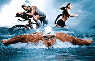 El corazón de un nadador contra el corazón de un corredor