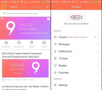 How to Become MIUI 9 Beta Tester: steps to apply