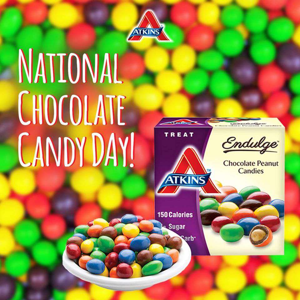 National Chocolate Candy Day Wishes Images