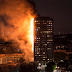 Breaking news! Fire destroys 24-story apartment block in West London