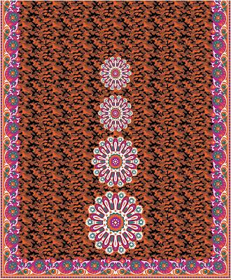Lavanya-Geometric-Textile-Kaftan 31a